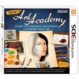 New Art Academy Game 3DS