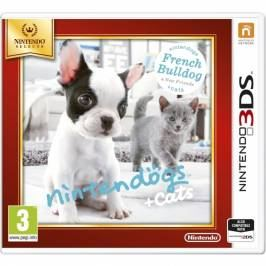 Nintendogs + Cats French Bulldog & New Friends Edition 3DS Game (Selects)
