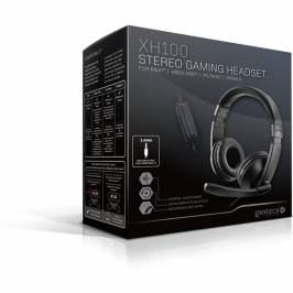 Gioteck XH100 Wired Stereo Gaming Headset Piano Black (PS4/Xbox One/PC/WII U) London