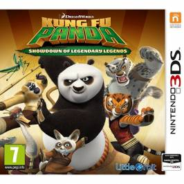 Kung Fu Panda Showdown of Legendary Legends 3DS Game