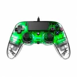 Nacon Compact Wired Illuminated Light Edition Controller (Green) PS4 London