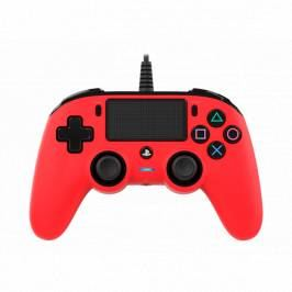 Nacon Compact Wired Controller (Red) PS4 London