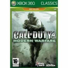Call Of Duty 4 Modern Warfare Game (Classics) Xbox 360 Games