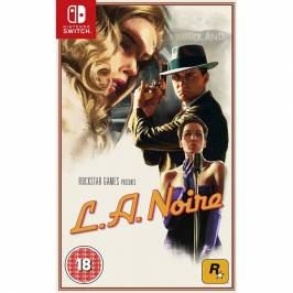 L.A.Noire Nintendo Switch Game Nintendo Switch Games