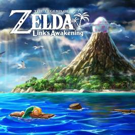 The Legend of Zelda Link's Awakening Nintendo Switch Game