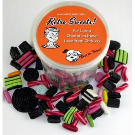 Personalised Liquorice Selection Bucket (20+designs) London