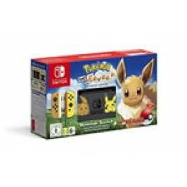 Nintendo Switch Let's Go Eevee Limited Edition Console with Joycon, Pre-Installed Pokémon: Let's Go Eevee + Pokeball Plus Controller London