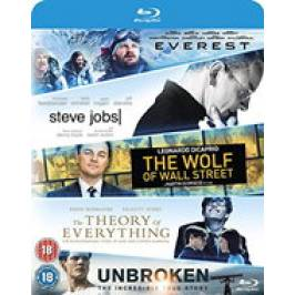 Everest/Steve Jobs/Wolf Of Wall Street/Theory Of Everything/Unbroken (Blu-ray) London