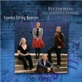 Beethoven: The Middle String Quartets (Music CD) London