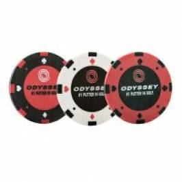 Poker Chip Ball Marker (3 Pack) London