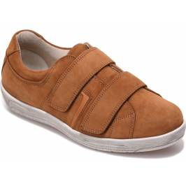 Cosyfeet Angus Extra Roomy Men's Shoes - Cinnamon 13 London