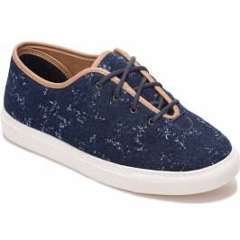 Cosyfeet Kama Extra Roomy Women's Shoes - Denim Star 4 Women's Footwear