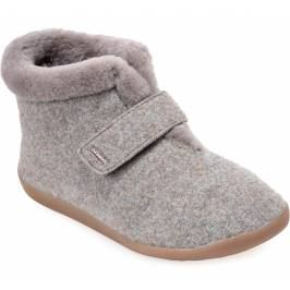 Cosyfeet Anna Extra Roomy Women's Slippers - Pebble 7