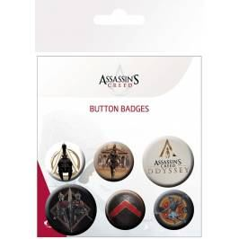 Assassins Creed Odyssey Mix Badge Pack London