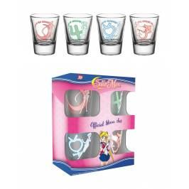 Sailor Moon Characters Shot Glasses London