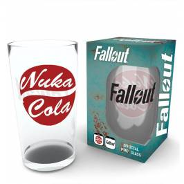 Fallout Nuka Cola Pint Glass London