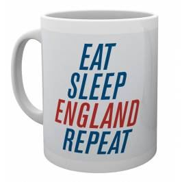 England Eat Sleep England Repeat Mug London