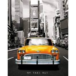 New York Taxi No 1 Mini Poster London
