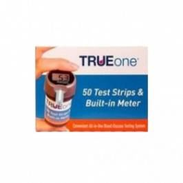TRUEone Blood Glucose Testing Kit With 50 Test Strips London