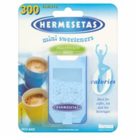 Hermesetas Mini Sweeteners 300 Tablets 4.5g London