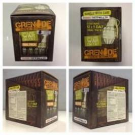 Grenade Thermo Detonator Trial Pack 12 X 4 capsule London